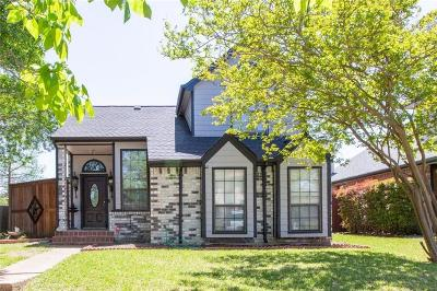 Mesquite Single Family Home For Sale: 1218 Thistle Drive