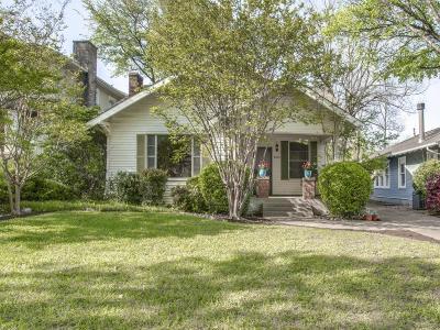 Dallas Single Family Home Active Option Contract: 6015 Belmont Avenue