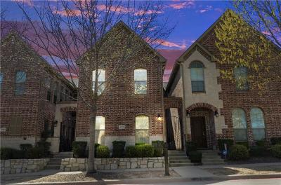 Frisco Townhouse For Sale: 6735 Pistoia Drive
