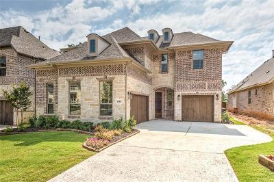 Grapevine Single Family Home Active Option Contract: 4383 Eastwoods Drive