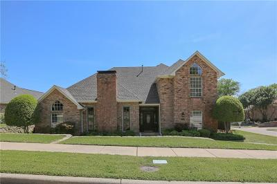 Coppell Single Family Home Active Option Contract: 727 Falcon Lane