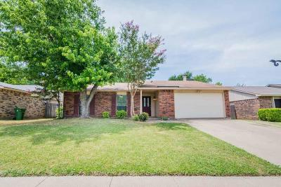 North Richland Hills Residential Lease For Lease: 6912 Glendale Drive
