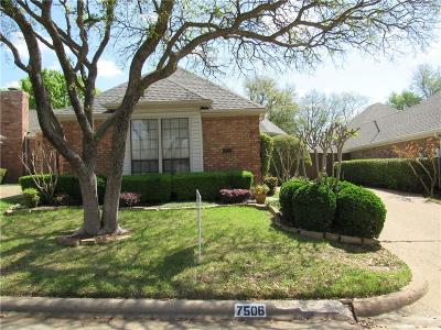 Garland Single Family Home Active Option Contract: 7506 Courtside Drive