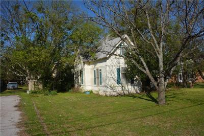 Goldthwaite Single Family Home For Sale: 1613 Fisher