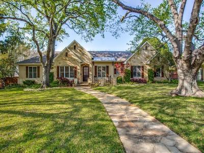 Dallas Single Family Home For Sale: 4241 Allencrest Lane