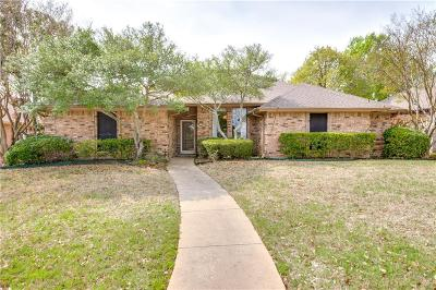 Plano Single Family Home Active Option Contract: 4344 Lottie Lane