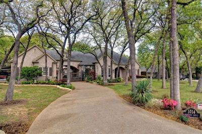 Fort Worth Single Family Home For Sale: 1014 Oak Tree Drive