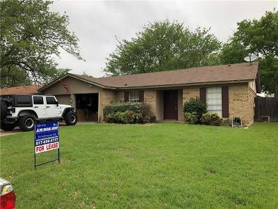 Haltom City Residential Lease For Lease: 4517 Cripple Creek Road