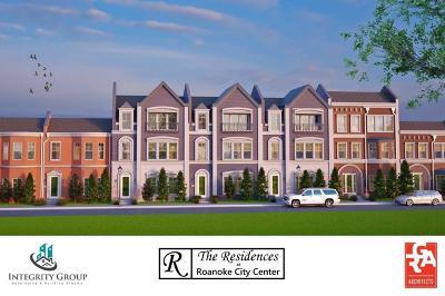 Roanoke Townhouse For Sale: 244 Morningside Drive #13