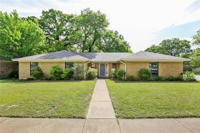 Euless Single Family Home Active Option Contract: 1306 Timber Ridge Drive