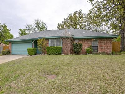 Denton Single Family Home Active Option Contract: 3020 Oakshire Street
