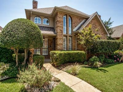 Plano Single Family Home Active Option Contract: 3022 Jomar Drive