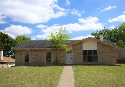 Garland Single Family Home For Sale: 1418 Blanco Lane
