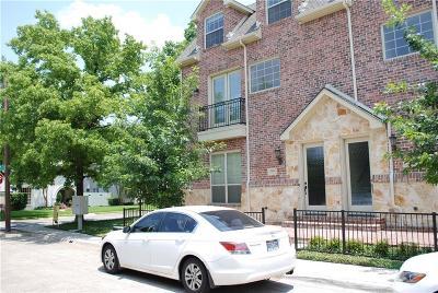 Highland Park, University Park Townhouse For Sale: 3429 Rankin Street #2a1