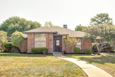 Coppell Single Family Home Active Option Contract: 128 Simmons Drive