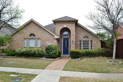 Frisco Single Family Home Active Option Contract: 4241 Armistice Drive