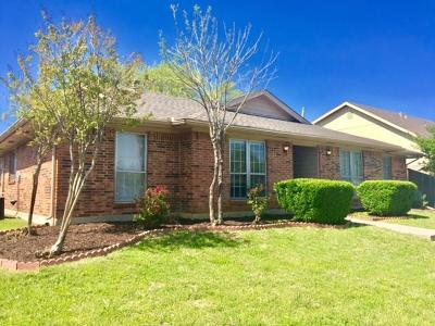 Carrollton Single Family Home Active Option Contract: 1711 Elizabeth Drive