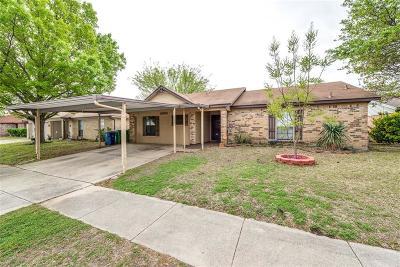Watauga Single Family Home Active Option Contract: 6304 Kary Lynn Drive S