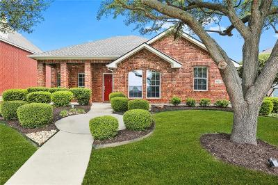 Allen Single Family Home Active Option Contract: 1603 Tanglewood Drive