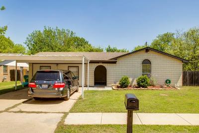 Watauga Single Family Home Active Option Contract: 6058 Dunson Drive