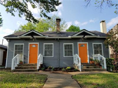 Dallas Multi Family Home Active Option Contract: 5925 Belmont Avenue