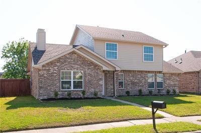 Rowlett Single Family Home Active Option Contract: 4506 Horizon Drive