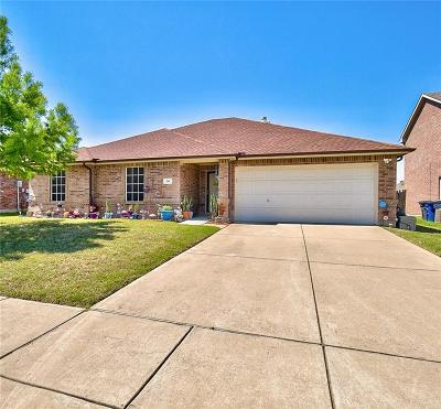 Little Elm Single Family Home Active Option Contract: 249 Flatwood Drive
