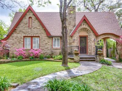 Dallas Single Family Home Active Option Contract: 6926 Vivian Avenue
