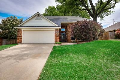 Grapevine Single Family Home Active Option Contract: 4511 Copperfield Drive