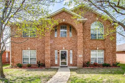 Allen Single Family Home Active Option Contract: 1528 High Country Lane