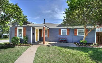 Fort Worth Multi Family Home For Sale: 1401 Hurley Avenue