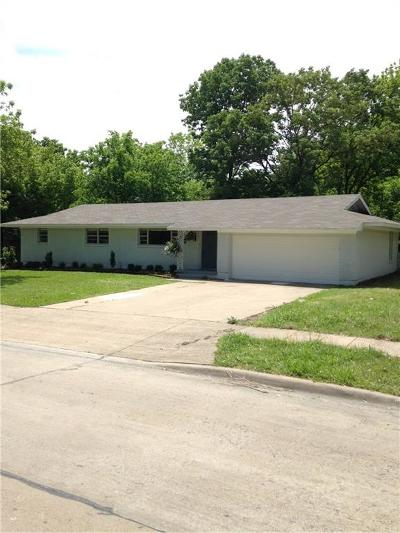 Ennis Single Family Home For Sale: 1103 Sunset Drive