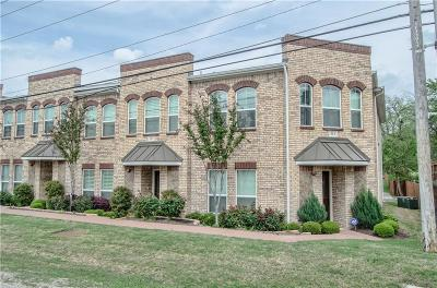 Lewisville Townhouse For Sale: 313 S Kealy Avenue