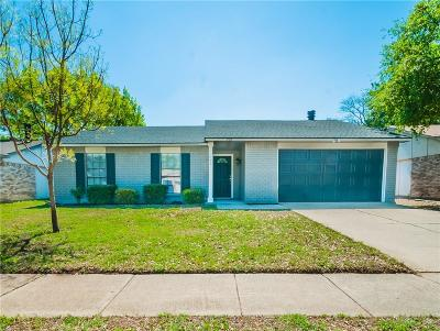 Allen Single Family Home Active Option Contract: 728 Wandering Way Drive