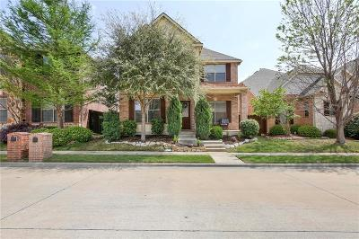 Lewisville Single Family Home Active Option Contract: 1584 Barksdale Drive