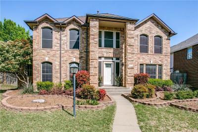 Allen Single Family Home Active Option Contract: 1013 Rockefeller Lane
