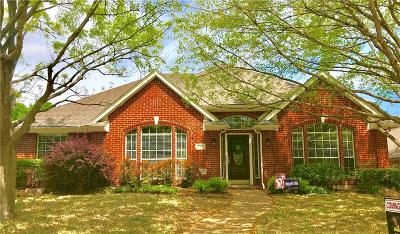 Allen Single Family Home Active Contingent: 1110 Shadetree Lane