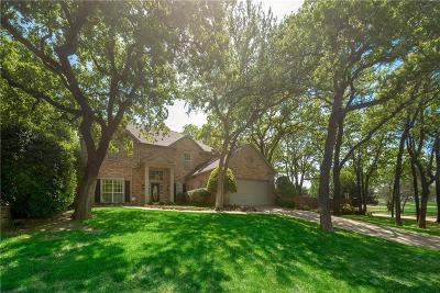 Grapevine Single Family Home Active Option Contract: 717 Preston Place