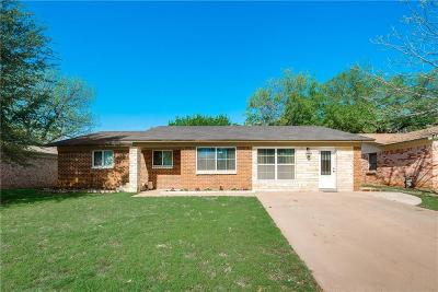 Hurst Single Family Home Active Option Contract: 1205 Norwood Drive