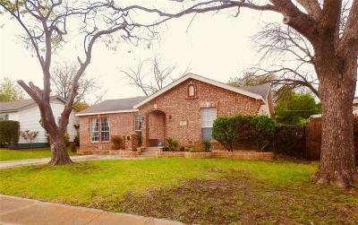 Garland Single Family Home Active Option Contract: 833 Bowie Street