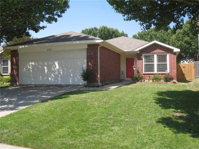 Denton Single Family Home Active Option Contract: 2329 Northway