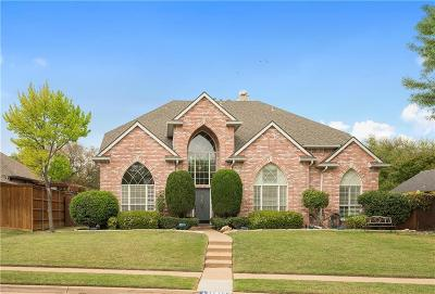 Frisco Single Family Home Active Option Contract: 11308 Jereme Trail