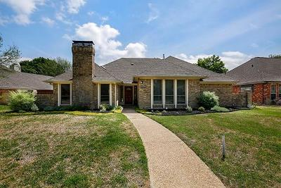 Plano Single Family Home Active Option Contract: 3612 Sailmaker Lane