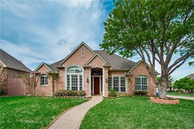 Plano Single Family Home Active Option Contract: 2121 Tomahawk Drive
