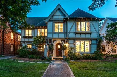 University Park Single Family Home Active Option Contract: 4343 Normandy Avenue
