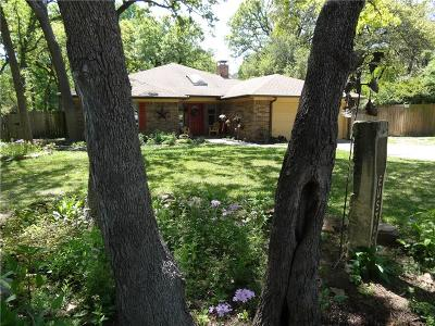 Grapevine Single Family Home Active Option Contract: 1321 Martin Court