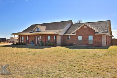 Abilene Farm & Ranch For Sale: 4517 Private Road 3201