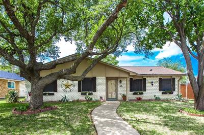 Plano Single Family Home Active Option Contract: 3905 Branch Hollow Drive