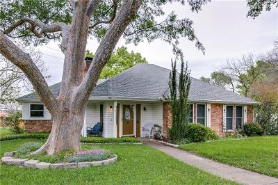Rowlett Single Family Home Active Option Contract: 4125 Simmons Drive
