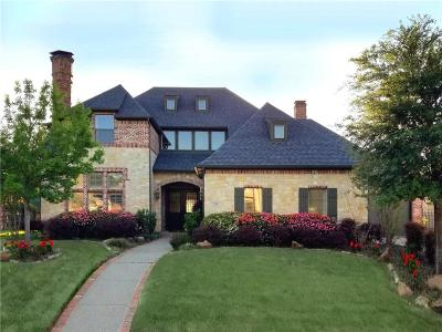 Coppell Single Family Home For Sale: 709 Waverly Lane